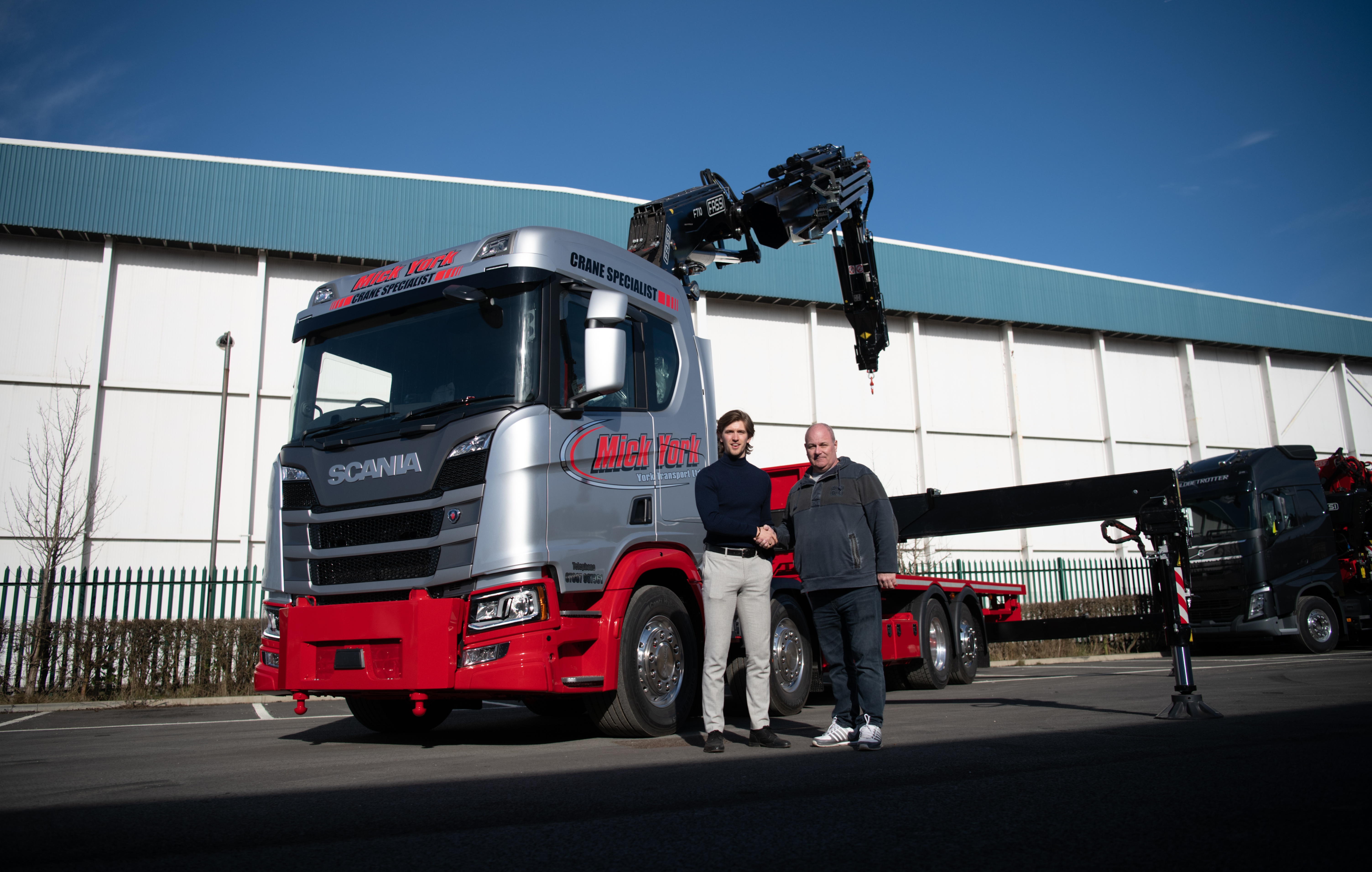 FASSI FOR MICK YORK TRANSPORT