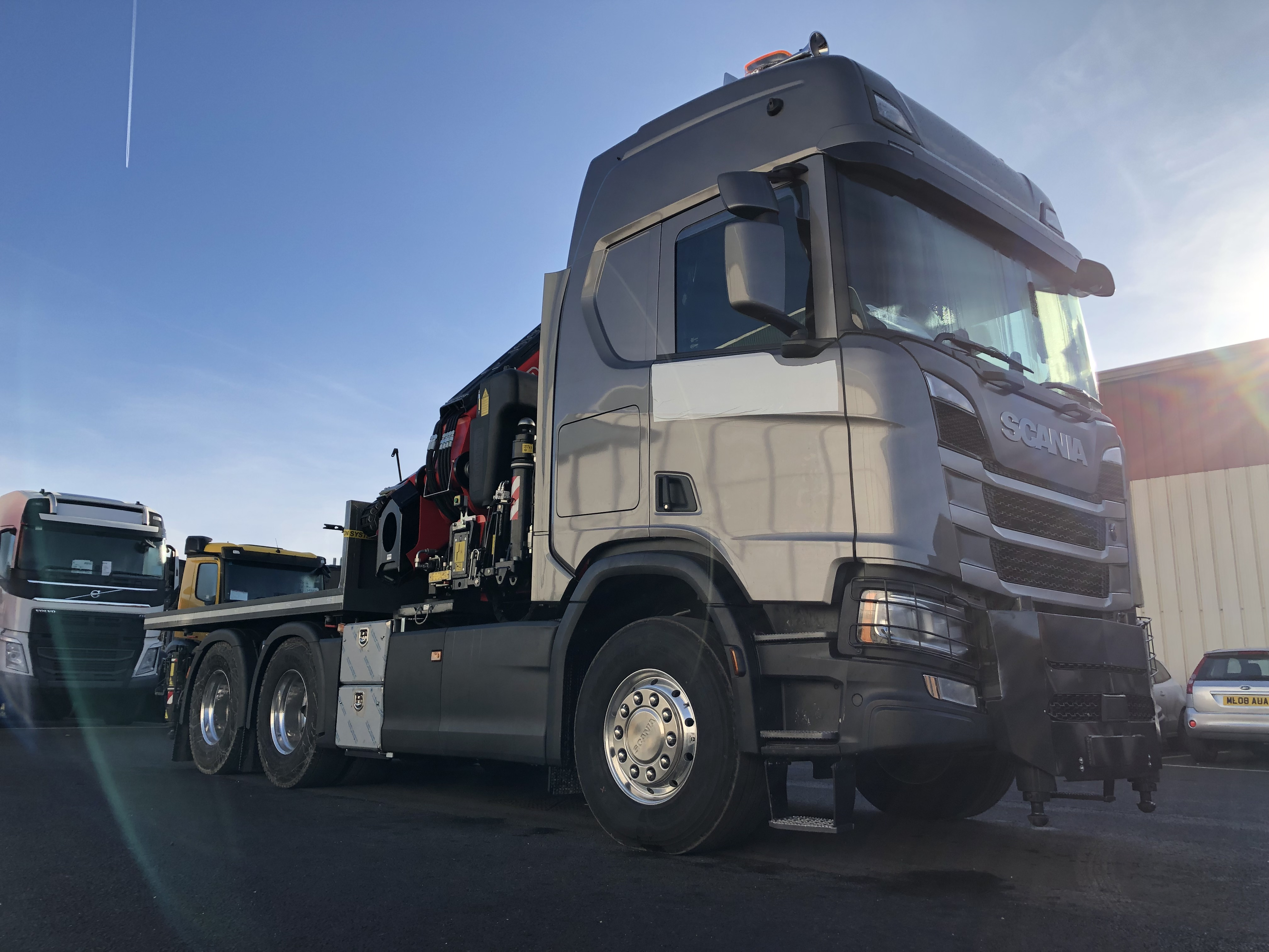 FASSI AGAIN FOR JW MORLEY TRANSPORT SERVICES
