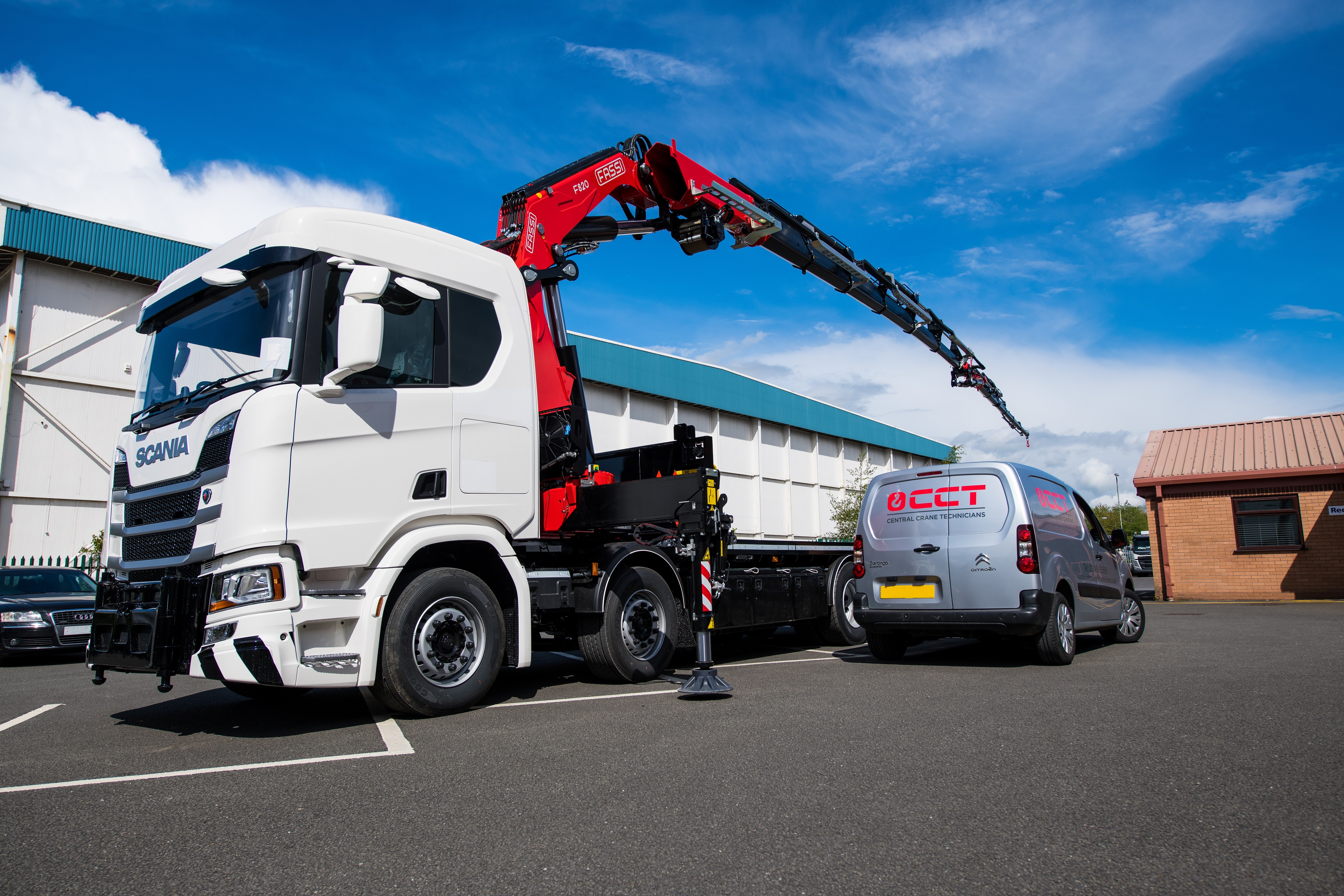 FIRST FASSI FOR SG HAULAGE