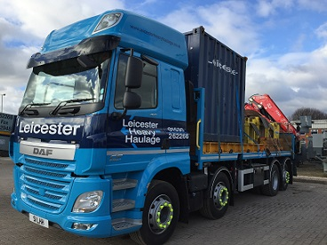 2 new Fassi's for Leicester Heavy Haulage