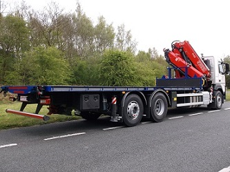 6 x new FASSI cranes for Nixon Hire
