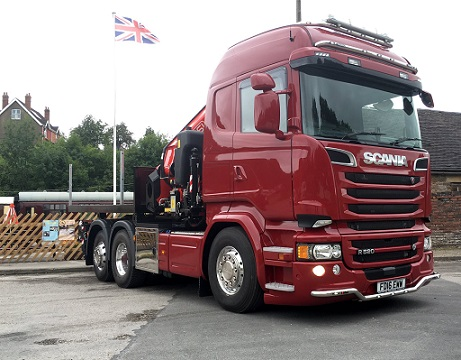 Richard Lester Transport choose Fassi